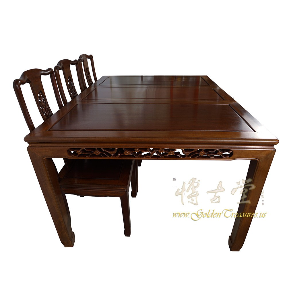 Chinese Antique Rosewood Dining Table w8 Chairs set  : 17LP38i from goldentreasures.us size 1000 x 1000 jpeg 109kB