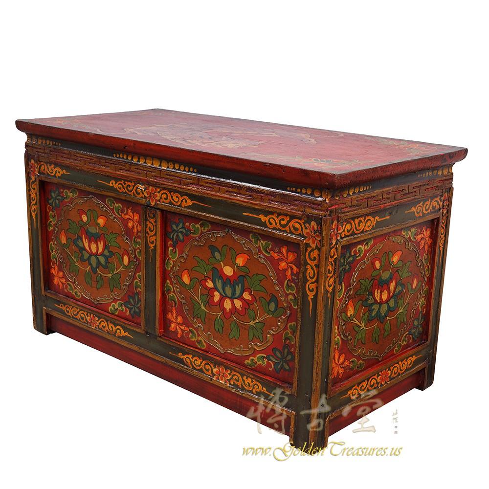 Tibetan Antique Altar Prayer Table Coffee Table 25z15
