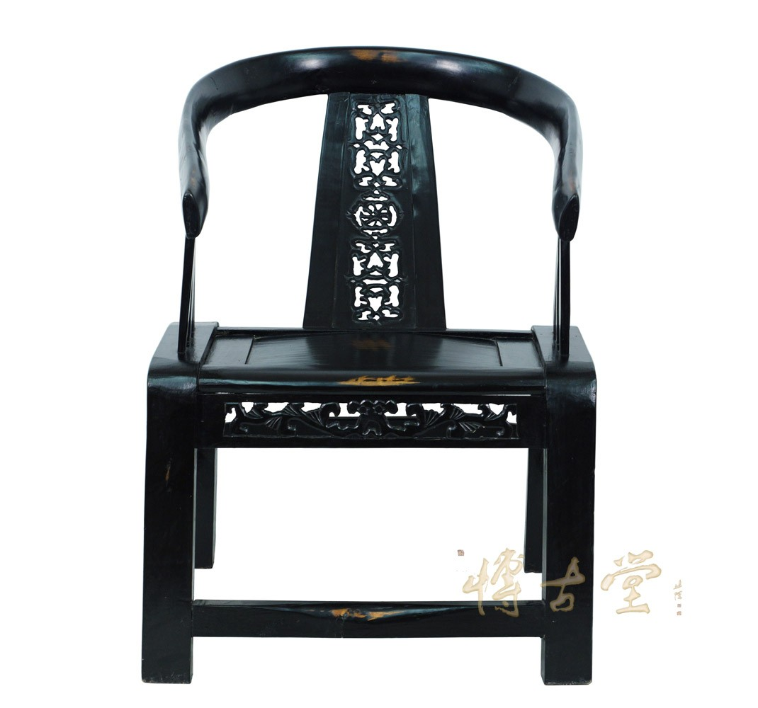 Chinese Antique Reproduction Yoke Armed   Horseshoe Chair 14XB28 Chinese  Antiques
