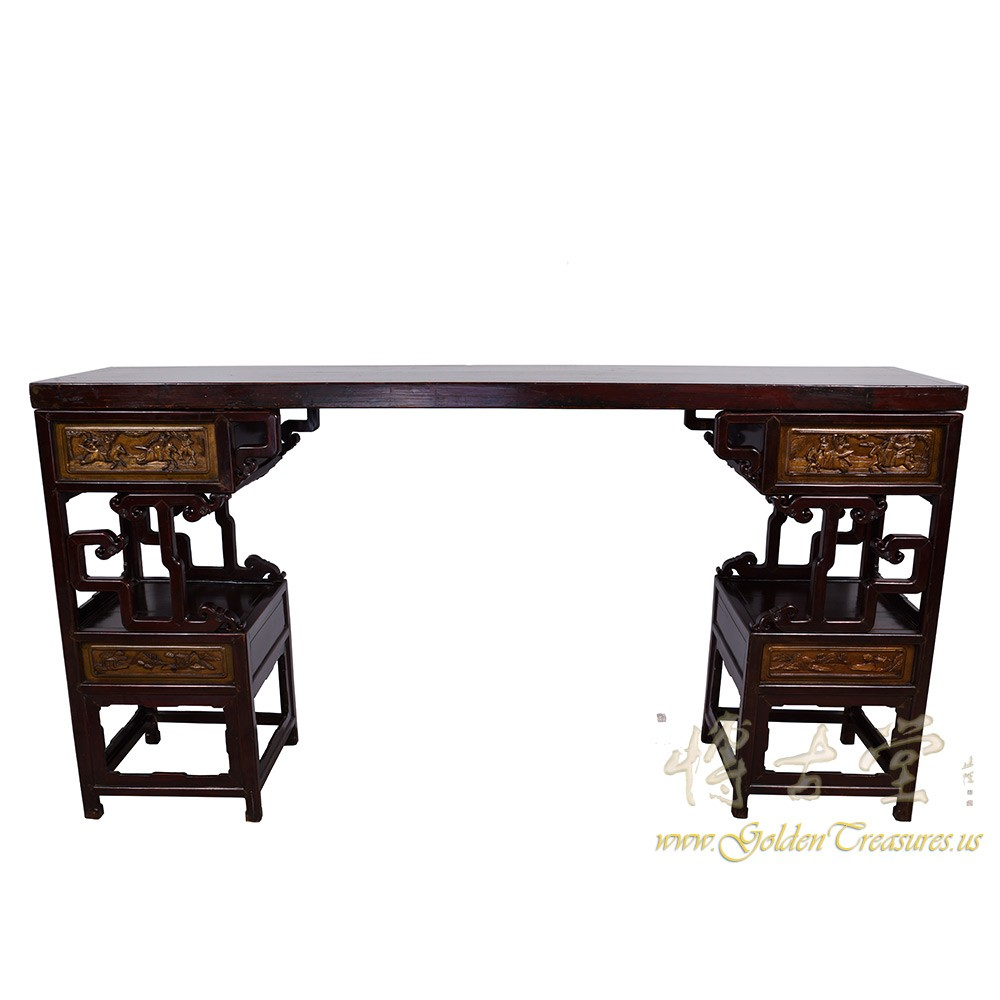 Chinese Antique Carved Altar Table/Entry Console 16LP103