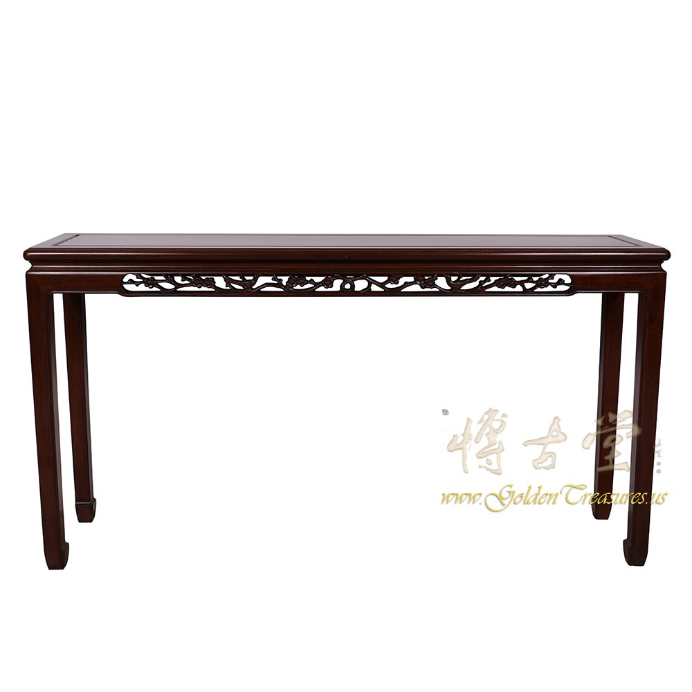 Vintage Chinese Rosewood Entry Console Sofa Table 17lp34 Chinese Antiques