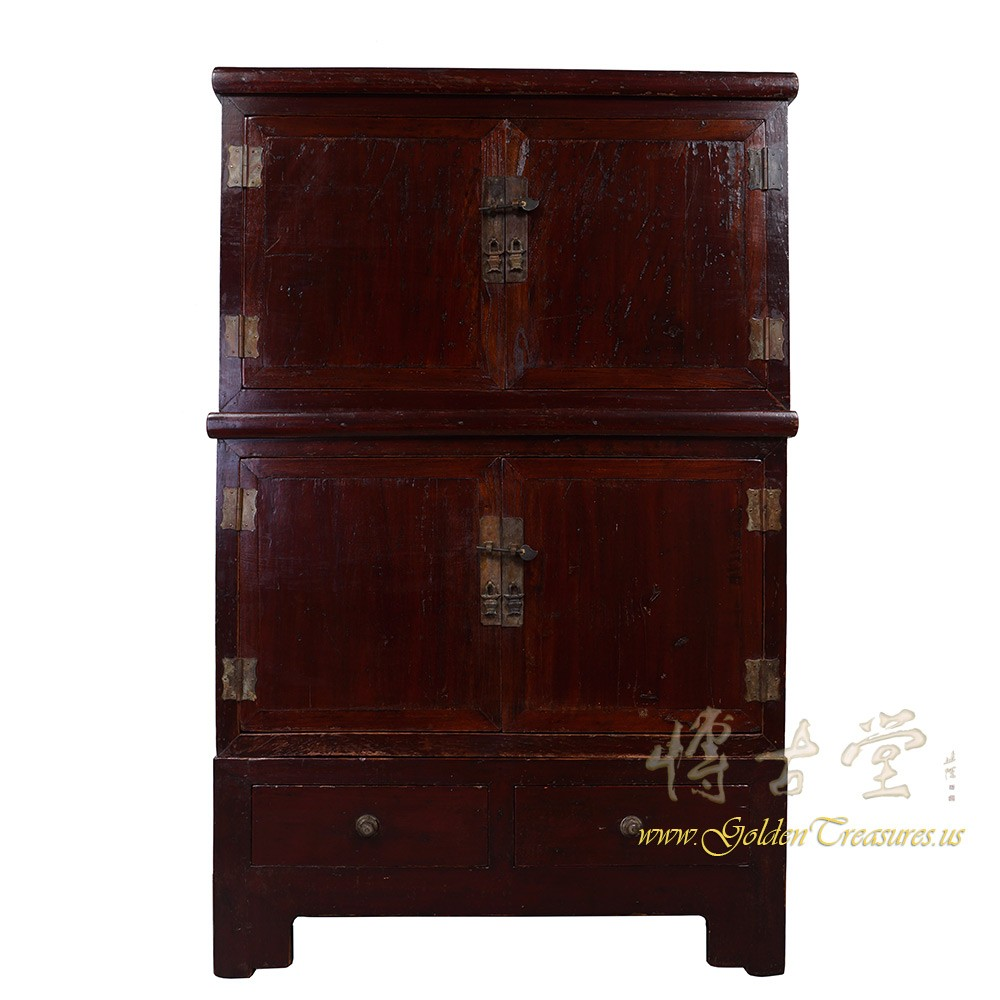 Chinese Antique Stackable Cabinet/Chest 18H16
