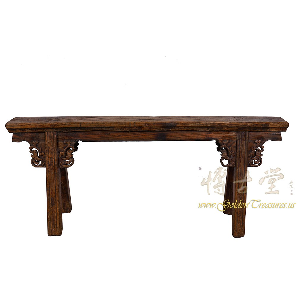 Chinese Antique Country Bench/Coffee Table 27B09D