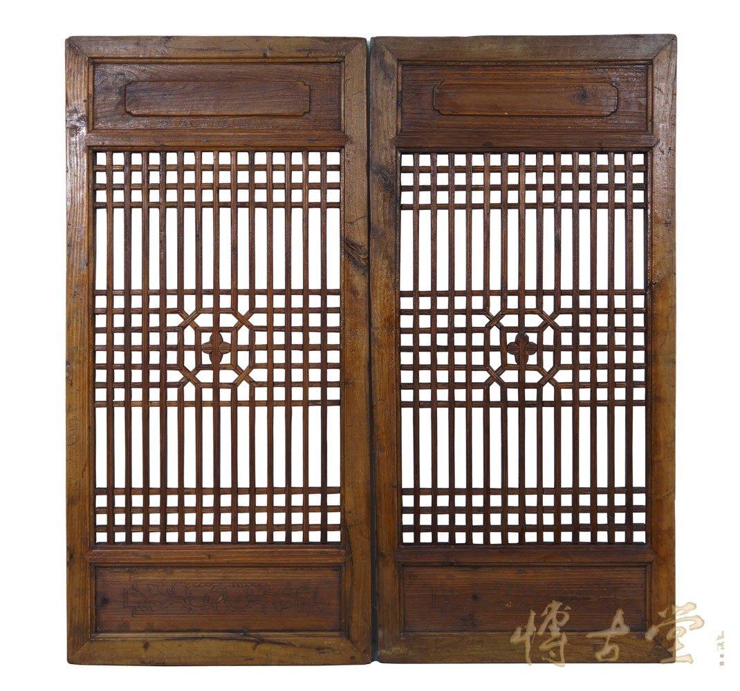 Chinese Antique Window Shutters -Wall Hanging 27S07