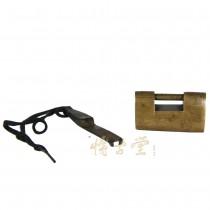 Chinese Antique Copper Lock 13R10