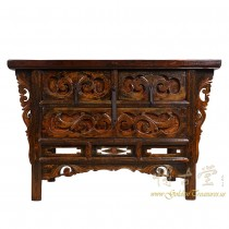 Chinese Antique Carved Shan Xi Console Table/Sideboard 16LP104