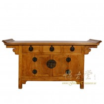 Vintage Chinese Carved Sideboard/Buffet Table 17LP48