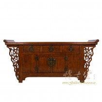 Chinese Antique Carved Sideboard/Buffet Table 18LP03