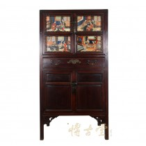 Chinese Antique Carved Fujian Armoire/Dresser 24P65
