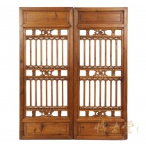 Chinese Antique Window Shutters -Wall Hanging 27P10