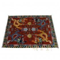 Tibetan Antique Pure Wool Rug 79 x 58 1/2 28M10