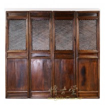 Chinese Antique Carved Wooden Panel Screen/Room Divider 28S03