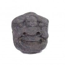 Chinese Antique Carved Stone Heracles Head