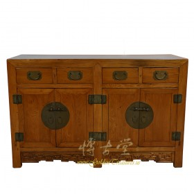 Chinese Antique Shan Xi Twin Cabinet/Buffet Table 17LP44