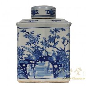 Vintage Chinese Porcelain Vase/Jar with lid 17LP57