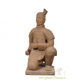 Antique Chinese Reproduction Life Size Terra-cotta Warrior 17LP78