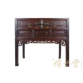 Chinese Antique Carved Shan Xi Table 23P06